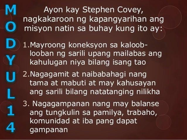 4.Isinulat upang magsilbing inspirasyon, hindi upang ipagyabang sa iba Kung ang isang tao ay mayroog personal na misyon sa...