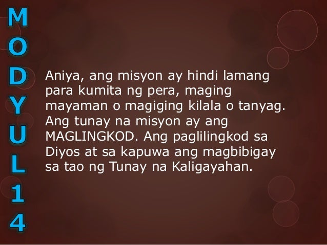 Kraytiryang SMART(Specific, Measurable, Attainable, Relevant, Time Bound) Tiyak(Specific). Kailangang ang lahat ng isusul...