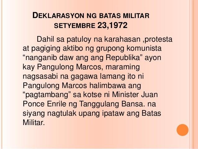 Batas militar | politics | justice.