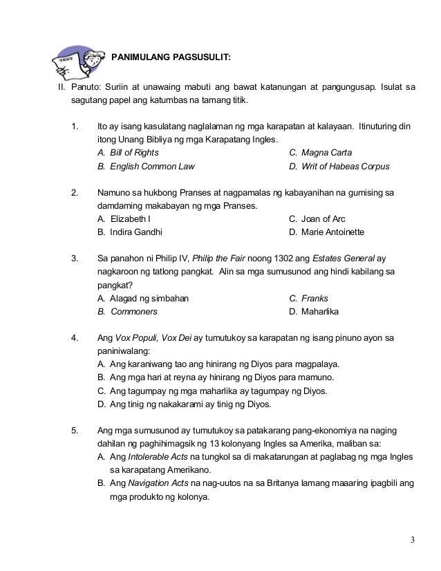 Modyul 16 Ang Pag Unlad Ng Nasyonalismo