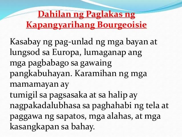Bagamat nabigyan sila ng ganitong prebilehiyo sa konseho ay hindi pa rin ito sapat upang kalimutan ng bourgeoisie ang kani...
