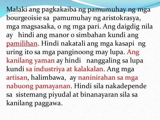 Nagkaroon lamang ng politikal na kapangyarihan ang mga bourgeoisie pagdating ng ika-19 na siglo. Nagkamit sila ng karapata...