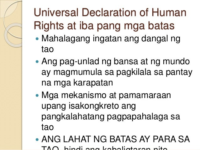 By Photo Congress || Universal Declaration Of Human Rights