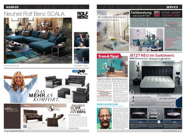 Moebel Schott Hauszeitung Februar 2013