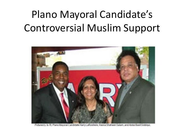 Plano Mayoral Candidate'sControversial Muslim Support