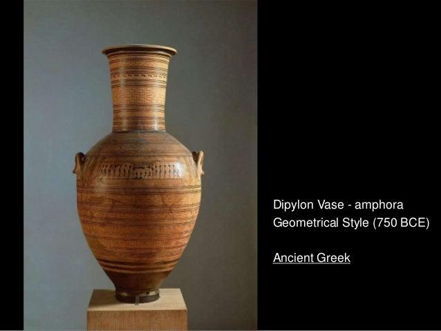 Dipylon Vase - amphoraGeometrical Style (750 BCE)Ancient Greek