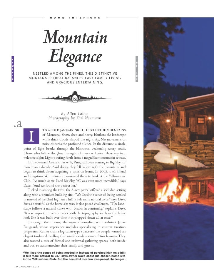 h o m e       i n t e r i o r s                                Mountaincowb                                Elegance       ...