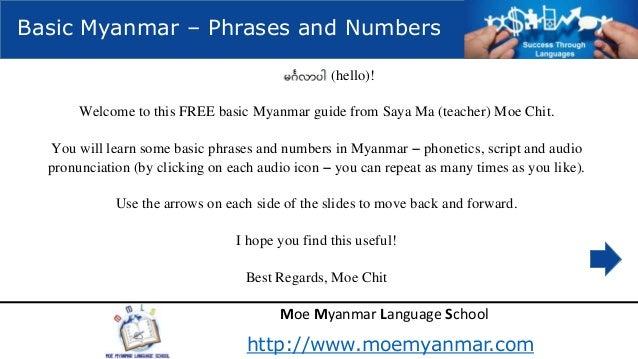 Myanmar dating sites free
