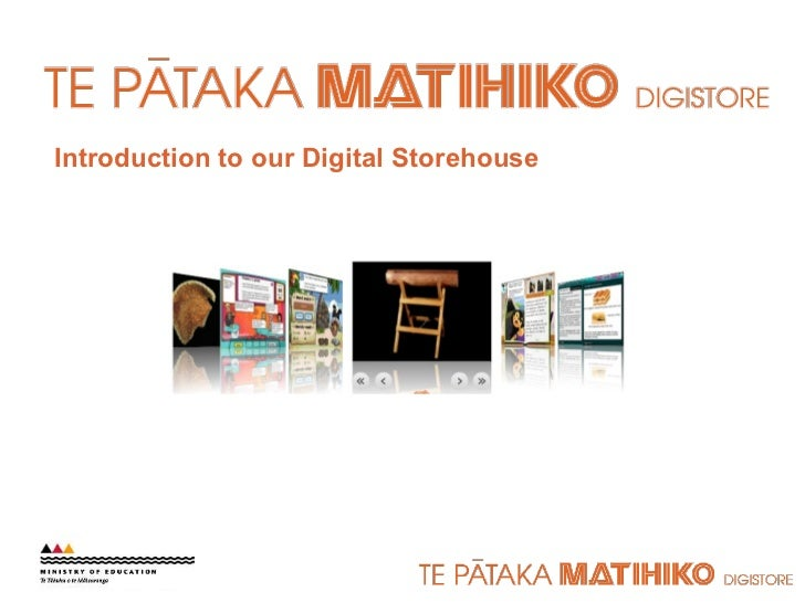 Introduction to our Digital Storehouse
