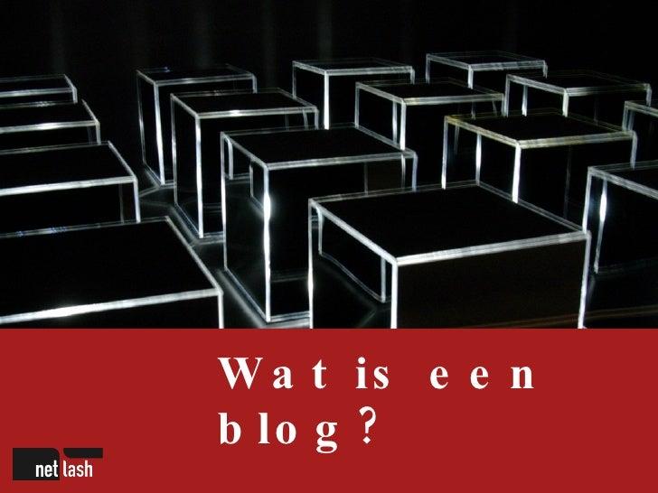 Moet uw bedrijf bloggen? Slide 2