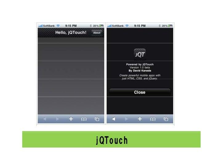 jQTouch