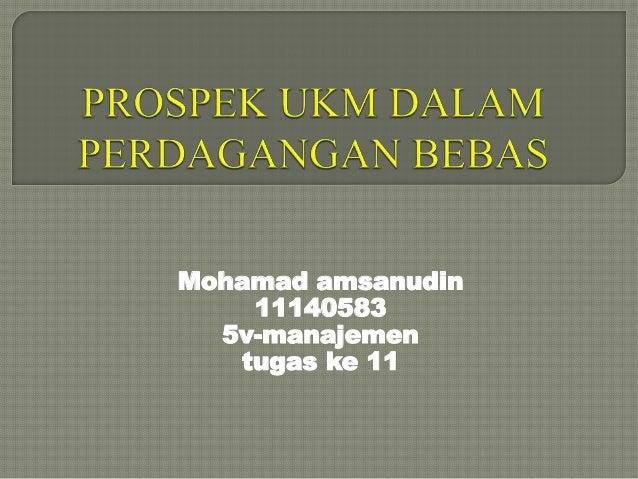 Mohamad amsanudin 11140583 5v-manajemen tugas ke 11