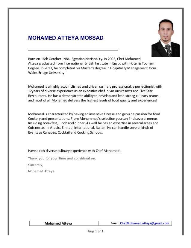 Mohamed atteya cover letter 2017 pdf