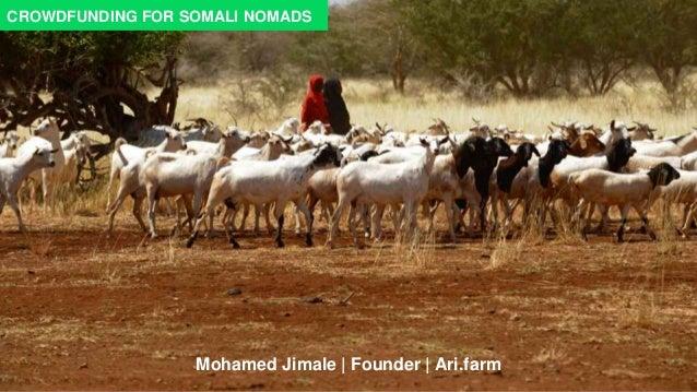 Mohamed Jimale | Founder | Ari.farm CROWDFUNDING FOR SOMALI NOMADS