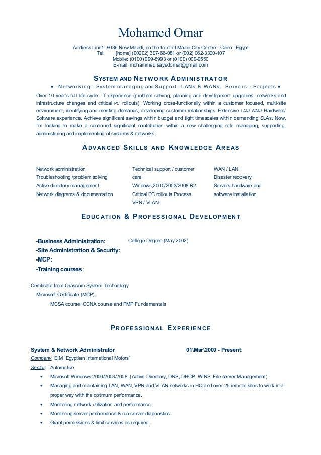 mohamed omar resume
