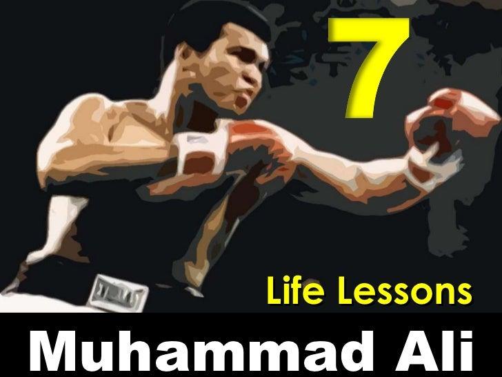 Muhammad Ali Life Lessons