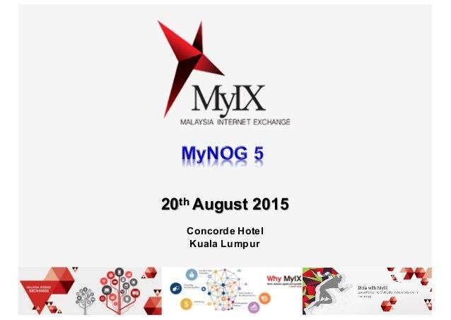 20th August 2015 Concorde Hotel Kuala Lumpur
