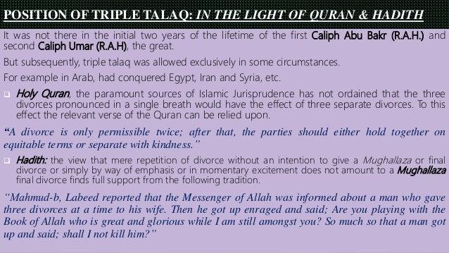 talaq meaning