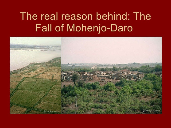The real reason behind: The Fall of Mohenjo-Daro