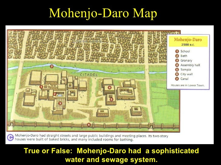 Great Mohenjo Daro Map ...