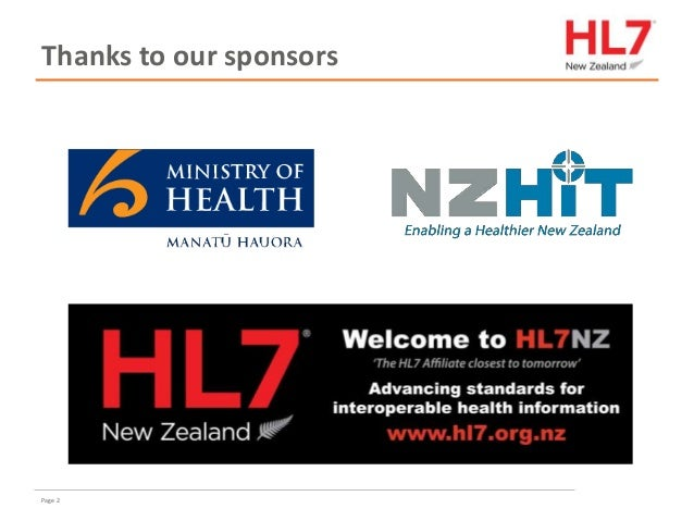 FHIR for implementers in New Zealand Slide 2