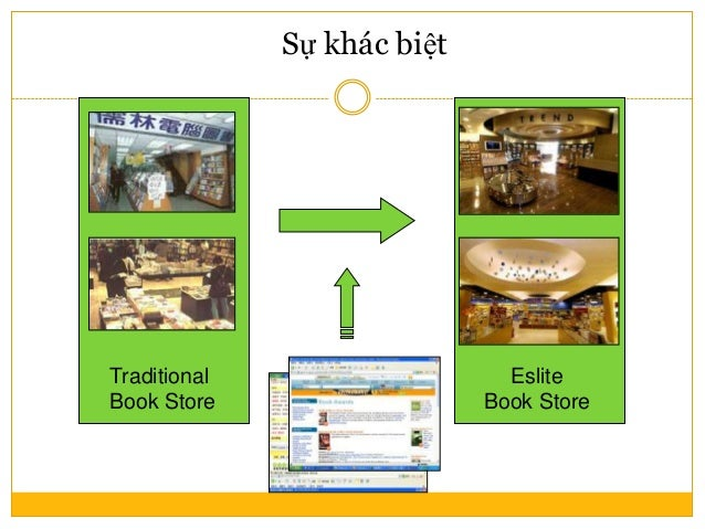 Eslite Book Store Sự khác biệt Traditional Book Store