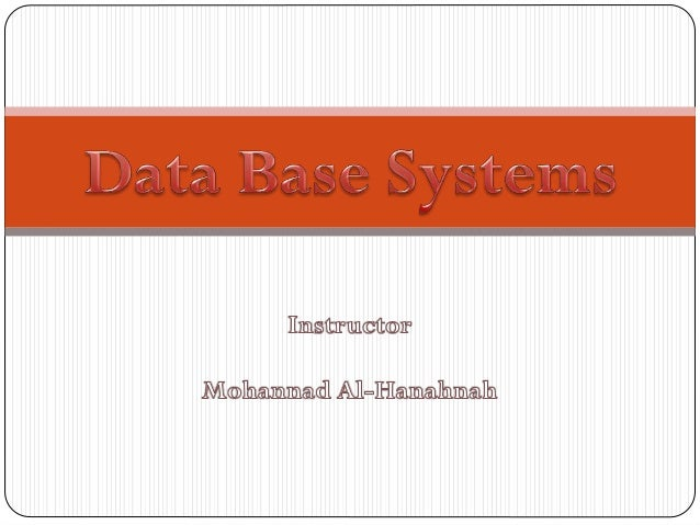 Course Outlines:1. Data Base Fundamentals.2. PL-SQL.3. Oracle 10g Forms.4. Oracle 10g Reports.                   Mohannad ...