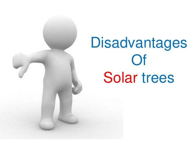 Disadvantages Of Solar trees