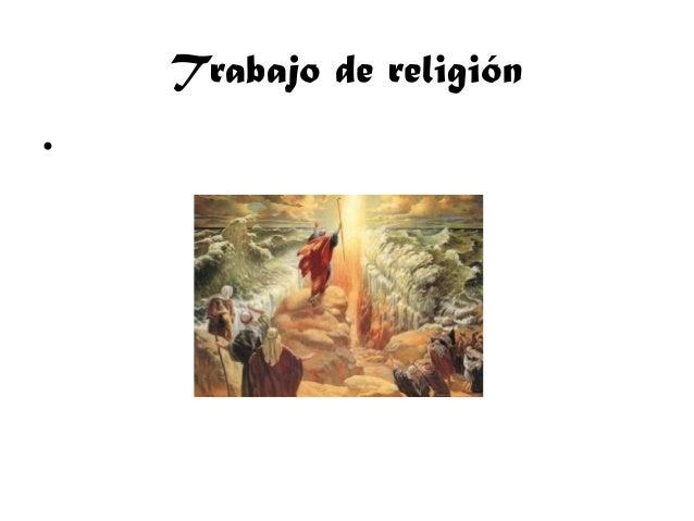 Trabajo de religión •