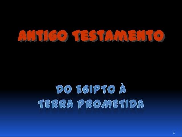 Antigo Testamento  1