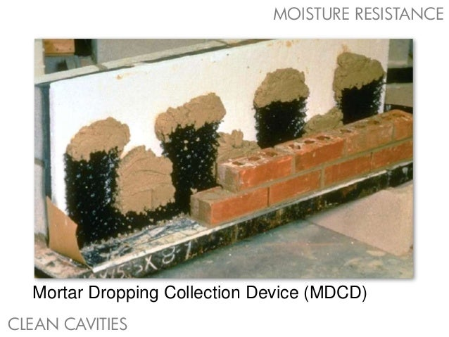 Brick Veneer Collection: Moisture Control For Masonry