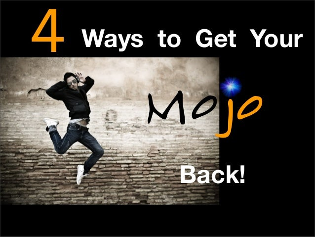 4 Ways to Get Your Back! oM jo