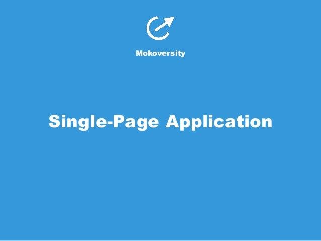 Single Page Application Ui Design Patterns