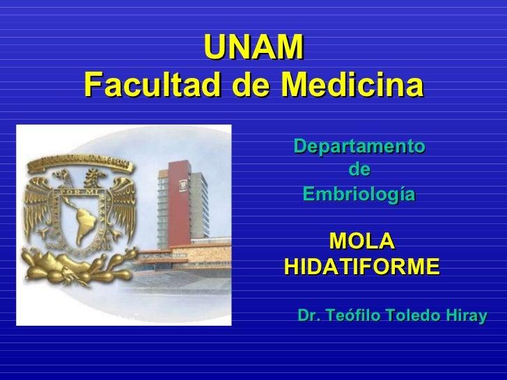 UNAM Facultad de Medicina <ul><li>Departamento  </li></ul><ul><li>de   </li></ul><ul><li>Embriología   </li></ul><ul><li>M...