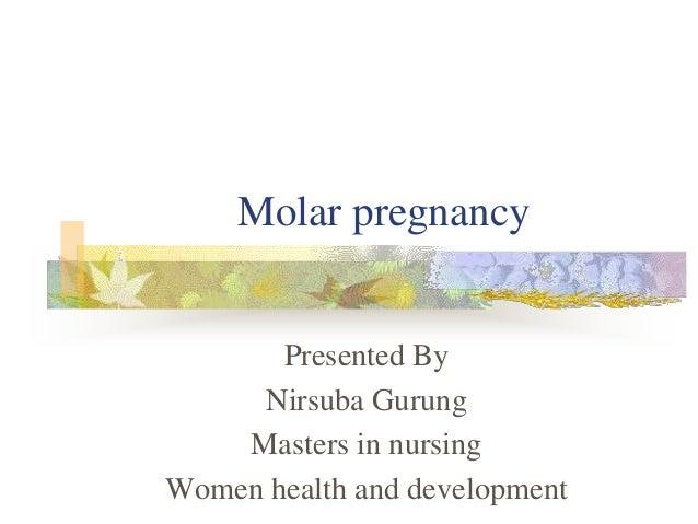 Like molar pregnancy in nonpregnant women