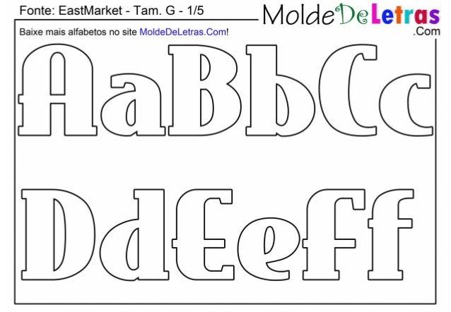 """Fonte:  EastMarket - Tam.  G - 1/5  """" E_ ti,   Baixe mais alfabetos no site MoIdeDeLetras. Com!  .Com  @JME ÍMÍÍÉCQÊÍ"""