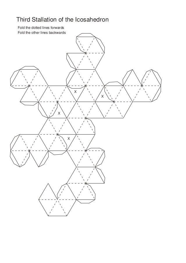 Molde de poliedros