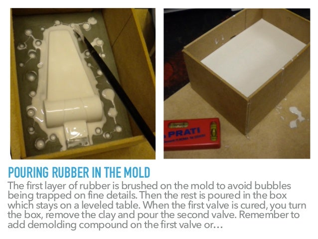 Molding and Casting 2 - Rubber Mold and Casting Resin