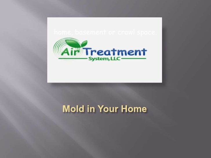 Mold in Your Home<br />home, basement or crawl space.<br />