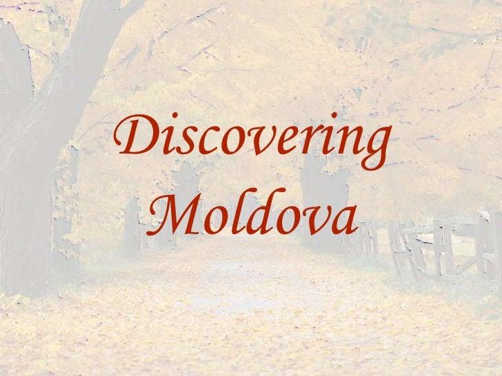 DiscoveringMoldova<br />