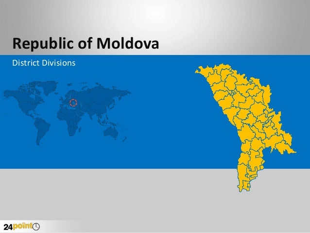Republic of Moldova District Divisions