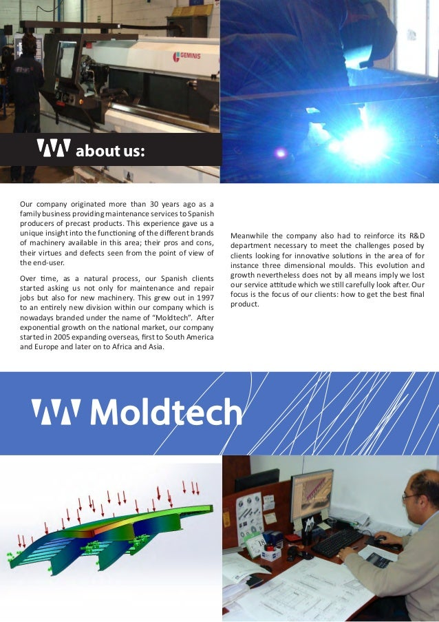 Moldtech SL - General Product Catalogue