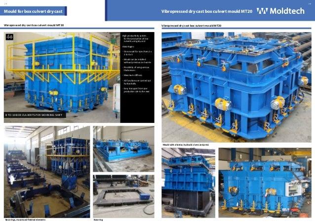Moldtech Sl Moulds For Precast Concrete Catalogue