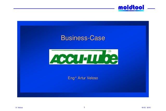 18 05. 2010A. Veloso 1 Business-Case Eng° Artur Veloso