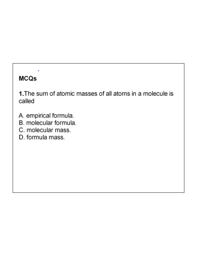 Mole, avogadro's number and calculations based on balanced ...