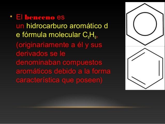 Molecula de benceno Slide 2