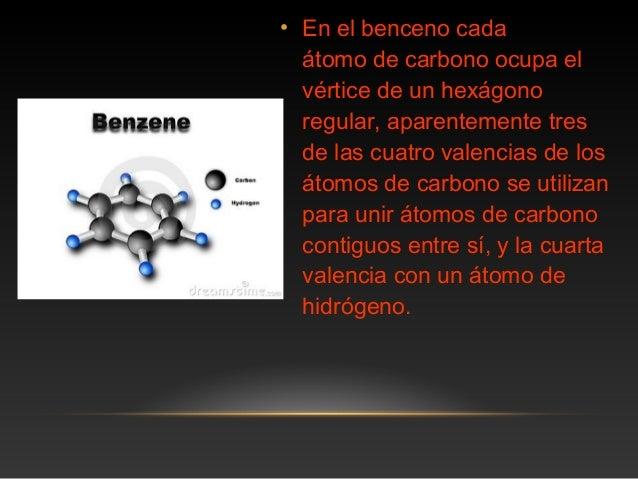 Molecula de benceno Slide 3