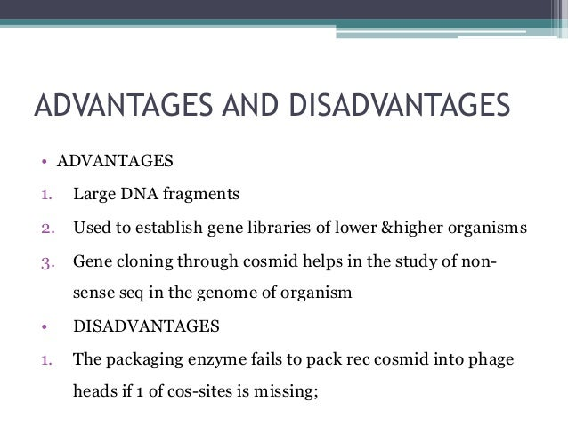 the disadvantages of human genome project essay