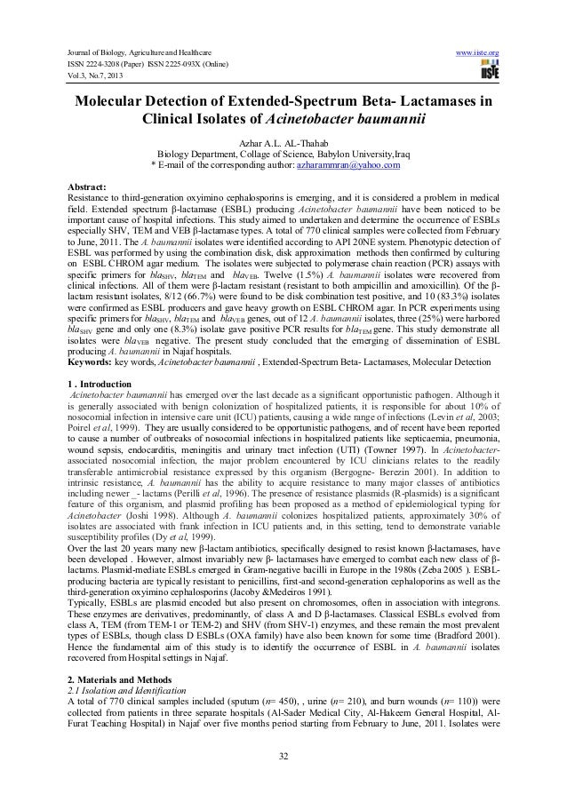 Journal of Biology, Agriculture and Healthcare www.iiste.org ISSN 2224-3208 (Paper) ISSN 2225-093X (Online) Vol.3, No.7, 2...