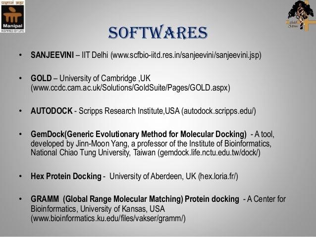 gold molecular docking software free